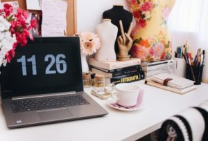 artistic workspace to increase productivity