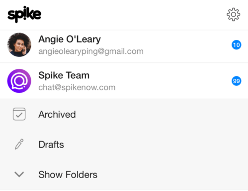 Spike email