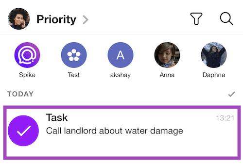 Spike tasks