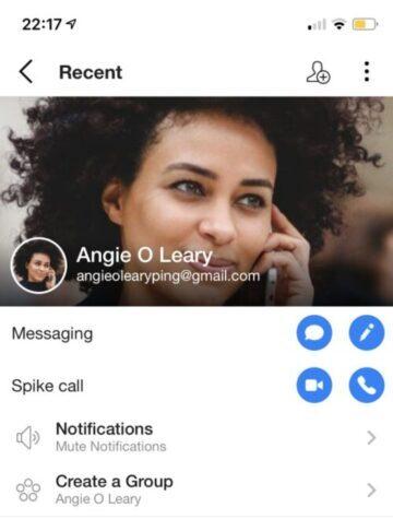 Spike video call