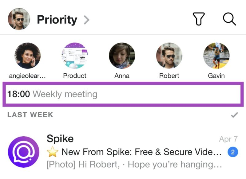 Spike calendar