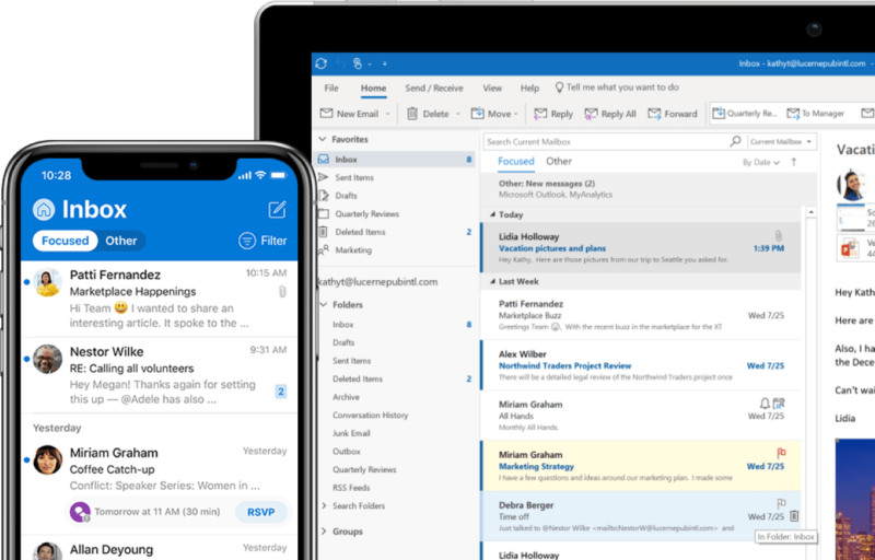 best email app 2019 by Spike