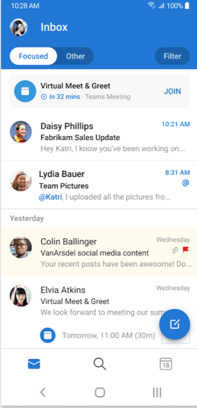 email app android best