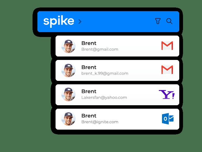 Spike unified inbox