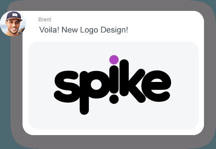 Spike-E-Mail-Chat-Nachricht
