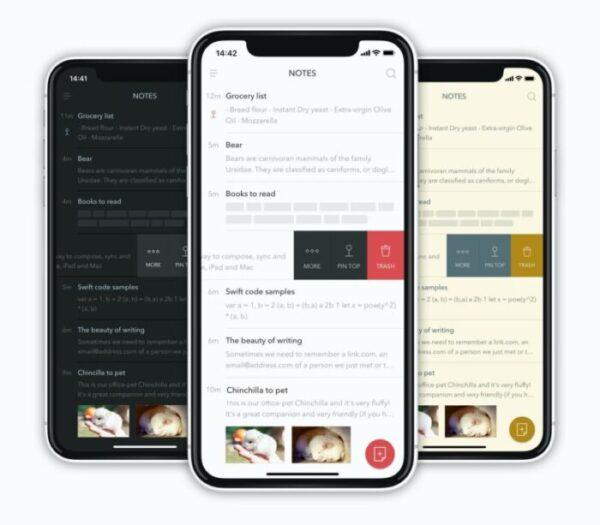 Bear productivity app