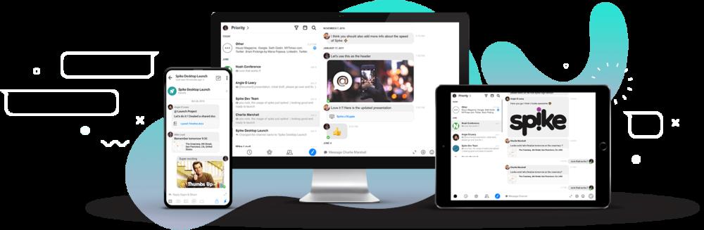 Spike Multi Platform email app