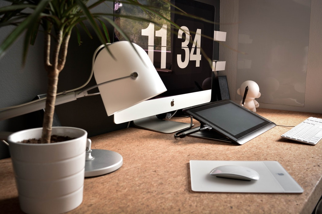 industrial desk for increasing productivity